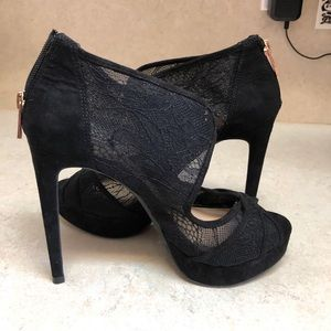 Lace Jessica Simpson Black heels